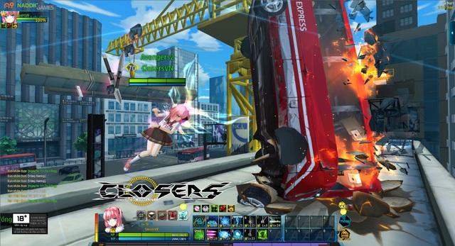 """""""Soi"""" cận cảnh tựa game chặt chém Closers phiên bản Việt hóa, chính thức ra mắt ngày 19/12 - Ảnh 3."""
