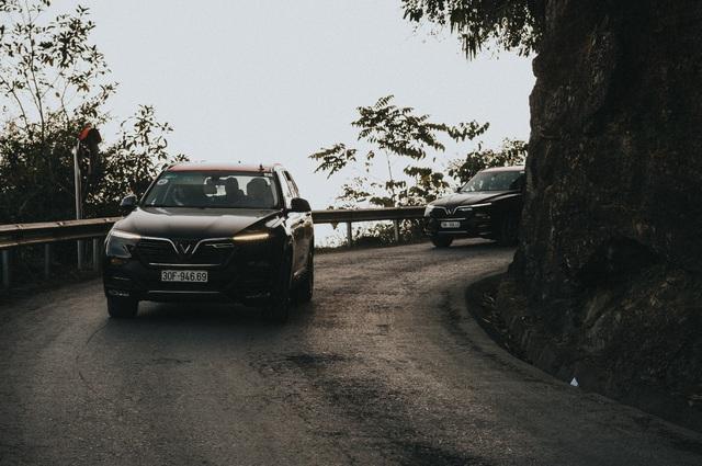 (SỐNG) 3 ngày rong ruổi 1.000km chinh phục Hà Giang của gần 100 xe VinFast: Gắn chặt những biểu tượng - Ảnh 9.