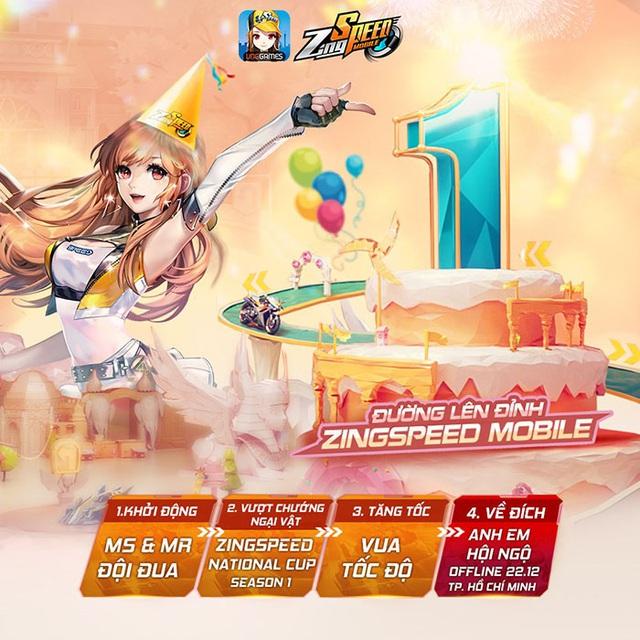 22/12 - Offline sinh nhật 01 tuổi ZingSpeed Mobile - Ảnh 1.