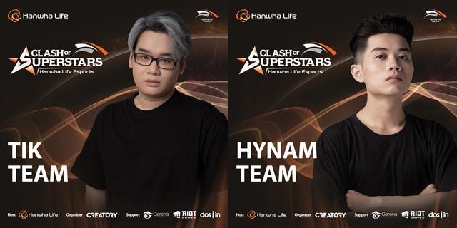 """Chung kết Hanwha Life Esports: Team HyNam """"đụng độ"""" Team TikTik Sama, ai sẽ là người """"tỏa sáng""""? - Ảnh 1."""
