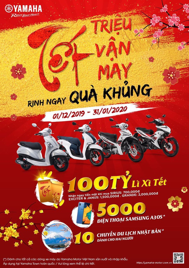 Những lý do xe máy Yamaha thuyết phục khách Việt dịp Tết này - Ảnh 5.