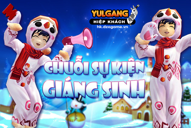 Bạn biết gì chưa: Chuỗi sự kiện hấp dẫn của Yulgang Hiệp Khách nhân dịp Giáng Sinh - Ảnh 1.