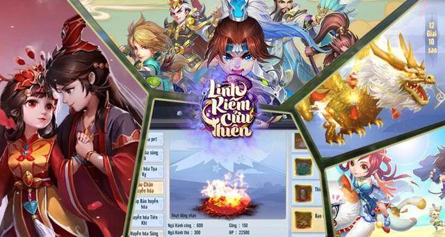 Siêu phẩm Linh Kiếm Cửu Thiên bất ngờ thông báo mở Server cho người chơi trải nghiệm - Ảnh 2.