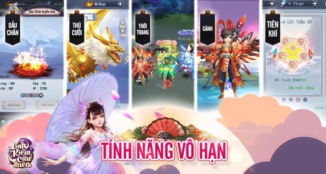 Siêu phẩm Linh Kiếm Cửu Thiên bất ngờ thông báo mở Server cho người chơi trải nghiệm - Ảnh 3.