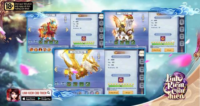 Linh Kiếm Cửu Thiên - chính thức khai mở Server với các sự kiện ưu đãi lên đến hàng trăm triệu - Ảnh 7.