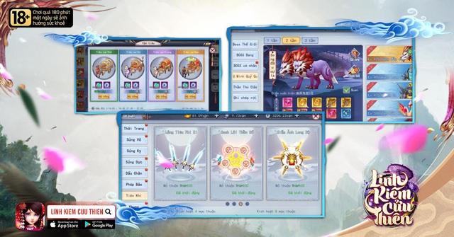 Linh Kiếm Cửu Thiên - chính thức khai mở Server với các sự kiện ưu đãi lên đến hàng trăm triệu - Ảnh 8.
