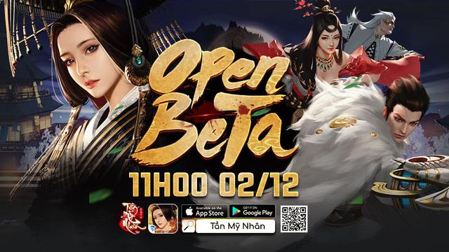Tần Mỹ Nhân chính thức Open Beta, tặng game thủ quà siêu Vip - Ảnh 1.