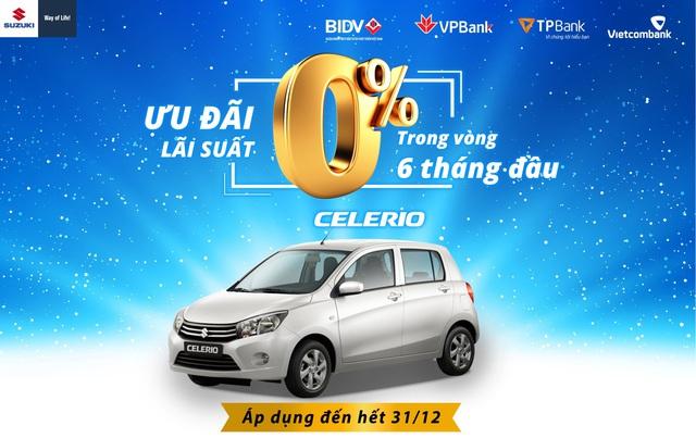 Suzuki Celerio - Xe Nhật giá chỉ từ 329 triệu đồng cho khách Việt thực dụng - Ảnh 4.