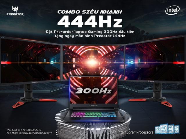Game thủ Việt săn lùng laptop Predator Triton 500 màn hình 300Hz: Bắn súng bao sướng, chỉ số K/D tăng vọt - Ảnh 5.