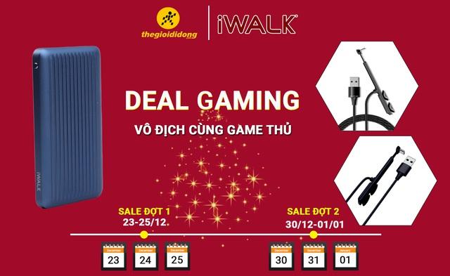 Phụ kiện iWALK – Deal khủng dành cho game thủ dịp cuối năm - Ảnh 1.