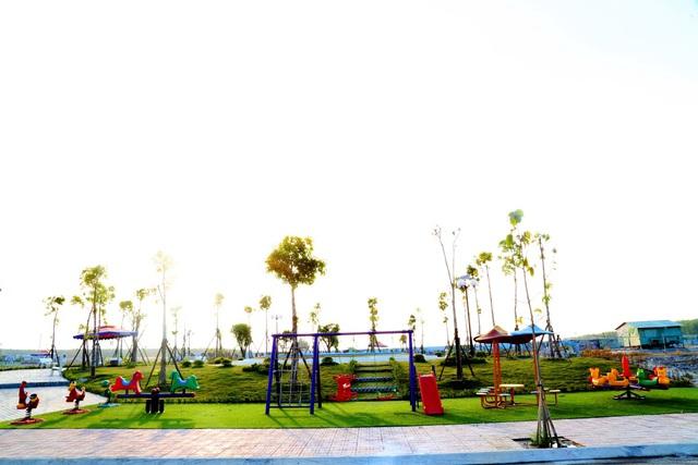 Golden Future City hút hàng trong lễ khánh thành công viên - Ảnh 1.