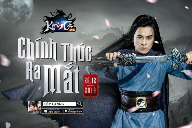Kiếm Ca VNG chính thức ra mắt 26/12, tuyệt phẩm MMORPG 3D không thể bỏ lỡ - Ảnh 1.