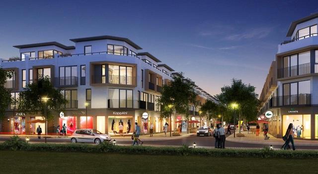 Lợi thế đắt giá của shophouse mặt đường 34m tại dự án Phố Nối House - Ảnh 1.