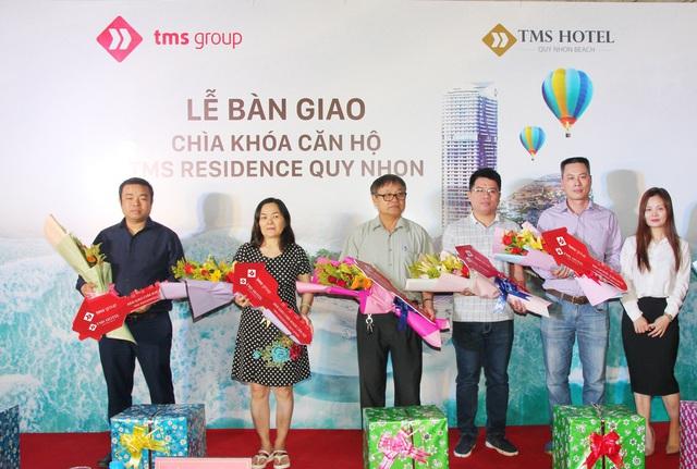 TMS Hotel Quy Nhon Beach bàn giao chìa khóa những căn hộ đầu tiên - Ảnh 1.