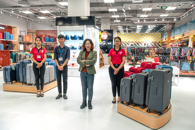 LUG mở Mega Store quy mô 789m2 lớn nhất tại AEON Hà Đông: rất nhiều sản phẩm hành lý quốc tế nổi tiếng, giá hợp lý - Ảnh 5.