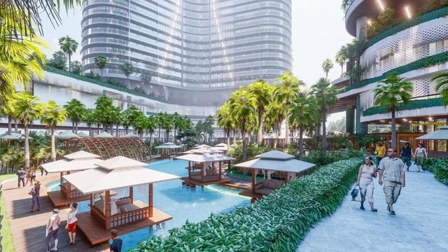Tổ hợp resort hơn 1 tỷ USD có sông nhân tạo, thác nước và vườn nhiệt đới tiếp cận thềm căn hộ tại quận 7 - Ảnh 7.