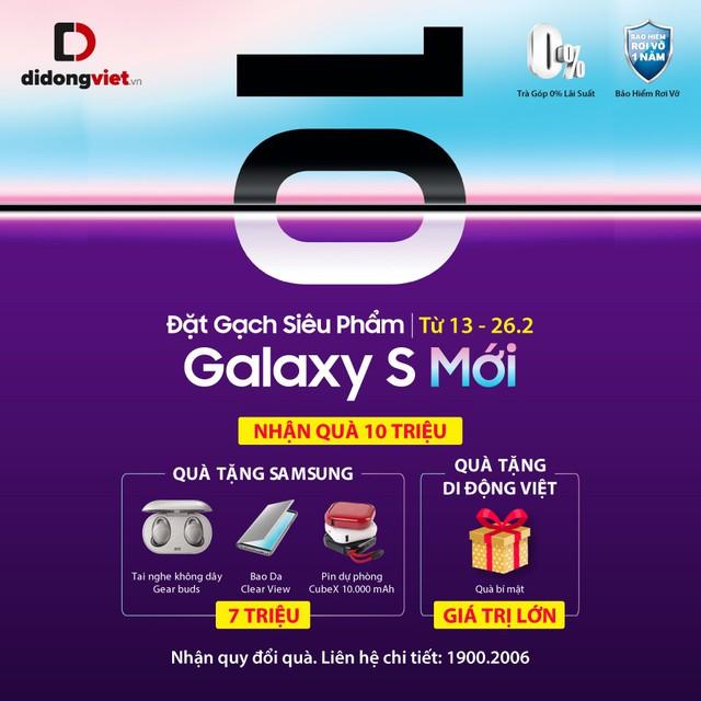 Samsung Galaxy S10/S10 Plus: Vì sao nên chọn đặt gạch thay vì chờ đặt cọc? - Ảnh 1.