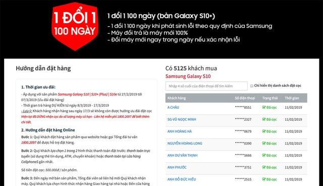 CellphoneS chính thức dừng đặt mua GALAXY S10 S10+ khi vượt hơn 5000 suất - Ảnh 2.