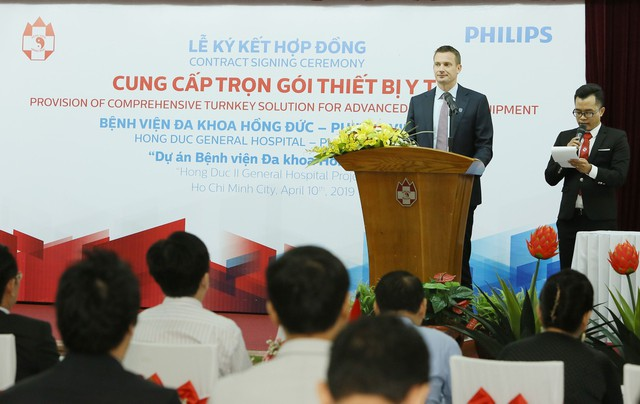 Philips Việt Nam ký kết thỏa thuận hợp tác với bệnh viện đa khoa Hồng Đức - Ảnh 2.