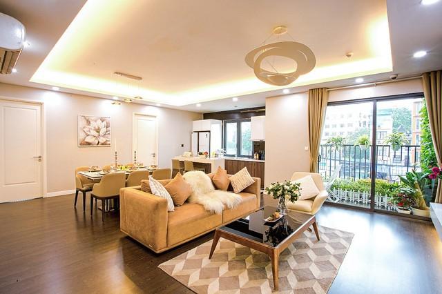 Dự án trung tâm Hà Nội chuẩn bị bàn giao thu hút người mua nhà - Ảnh 1.