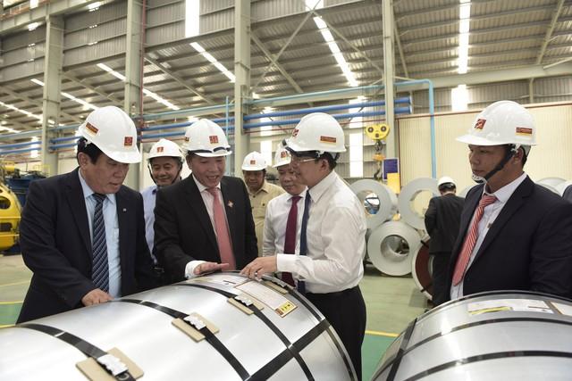 Tập đoàn Hoa Sen tiếp tục nâng cao năng lực sản xuất, tăng tốc xuất khẩu - Ảnh 1.
