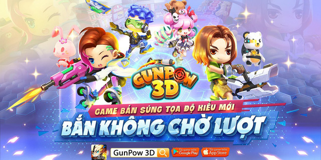 Vì sao game thủ nên thử nghiệm GunPow 3D ngay hôm nay? - Ảnh 1.