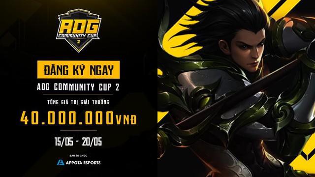 AOG - Community Cup 2 chính thức ra mắt với tổng giải thưởng lên tới 40 triệu Đồng - Ảnh 1.