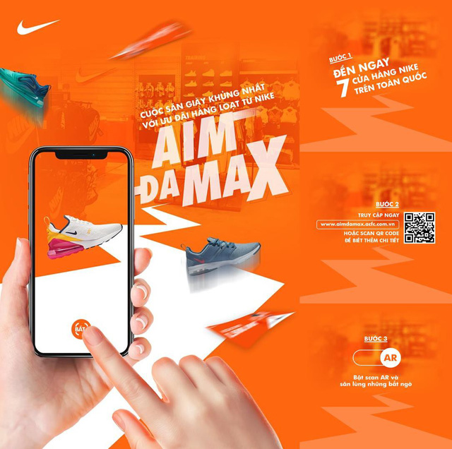 AIM DA MAX – Đấu trường của những tay săn giày 4.0 - Ảnh 1.