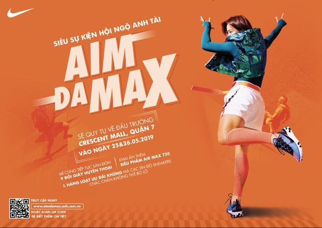 AIM DA MAX – Đấu trường của những tay săn giày 4.0 - Ảnh 2.