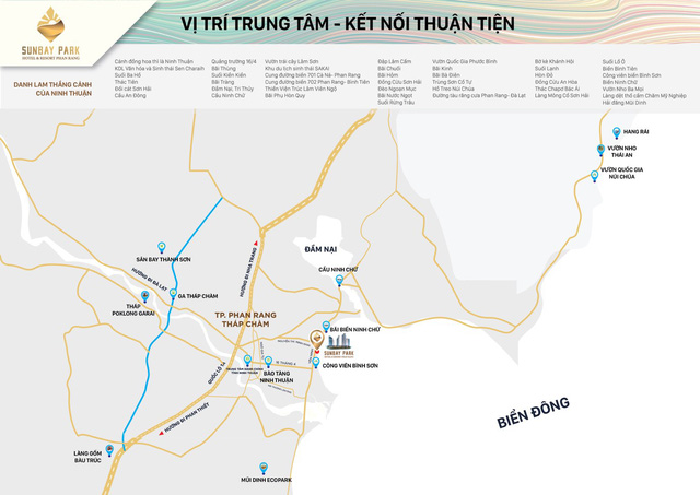 SunBay Park Hotel & Resort Phan Rang: Dự án độc đáo giữa sa thảo Ninh Thuận - Ảnh 1.