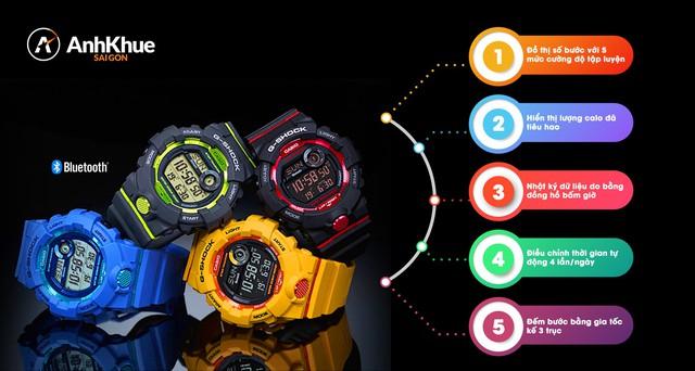 """Ngắm trọn bộ đồng hồ """"trợ lý thể thao"""" Casio G-Squad thu hút giới trẻ châu Á - Ảnh 1."""