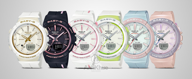 """See all the Casio G-Squad """"sports assistant"""" watches that attract Asian youth - Photo 5."""