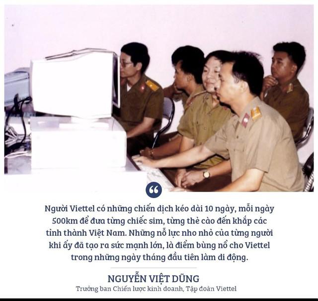 30 năm lịch sử và những lần tạo kỳ tích khi khởi tạo thực tại mới của Viettel - Ảnh 2.