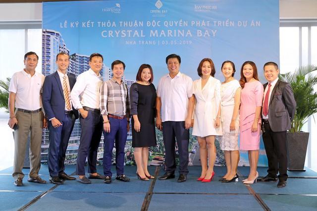 Crystal Bay ký kết hợp tác phát triển dự án Crystal Marina Bay với KW Phúc An và Hoàng Mai Media - Ảnh 2.