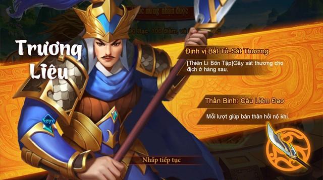"""Danh Tướng 3Q – VNG tặng thẻ Zing 200K và nhận quà """"mỏi tay"""" cùng sự kiện chiêu mộ tướng - Ảnh 3."""
