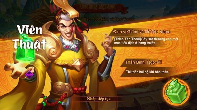"""Danh Tướng 3Q – VNG tặng thẻ Zing 200K và nhận quà """"mỏi tay"""" cùng sự kiện chiêu mộ tướng - Ảnh 4."""