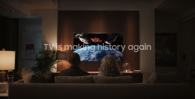The historical moment of mankind 50 years ago is about to reproduce on Samsung TV - Photo 5.
