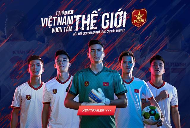 """FIFA Online 4 ra mắt thêm 5 ngôi sao tuyển Việt Nam xuất hiện trong dự án """"Tự hào Việt Nam, vươn tầm thế giới - Ảnh 2."""