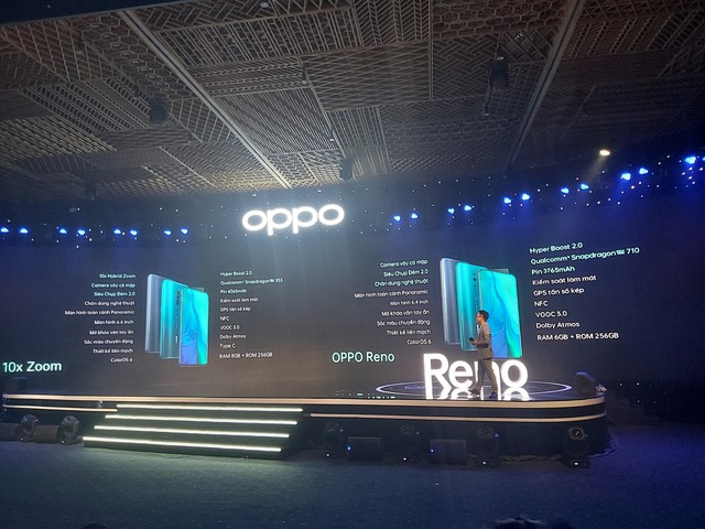 OPPO Reno Reviewer: impressed with the unique shark fin camera design, one of the most beautiful displays in the price range - Photo 4.