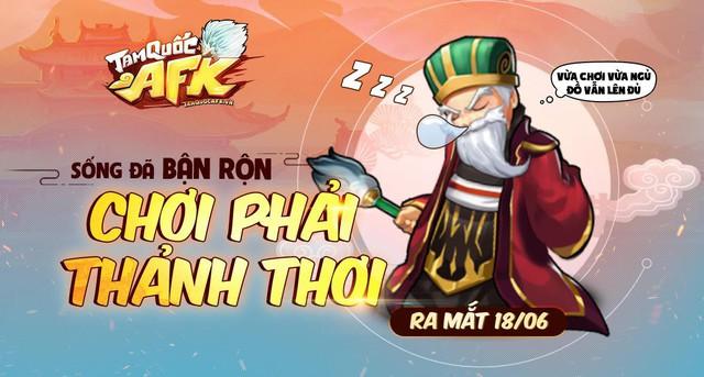 Tam Quốc AFK - Game đấu tướng dành cho người bận rộn chính thức ra mắt tại Việt Nam - Ảnh 1.