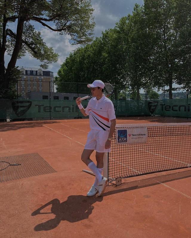 Trần Quang Đại đậm chất phóng khoáng tại Roland Garros - Ảnh 2.