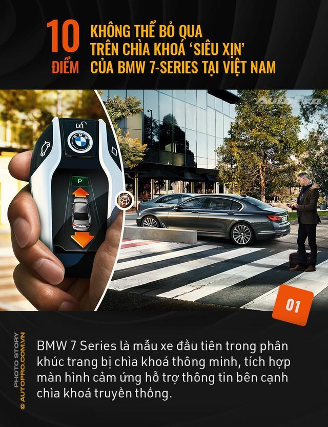 """10 điểm không thể bỏ qua trên chìa khoá """"siêu xịn"""" của BMW 7 Series tại Việt Nam - Ảnh 1."""