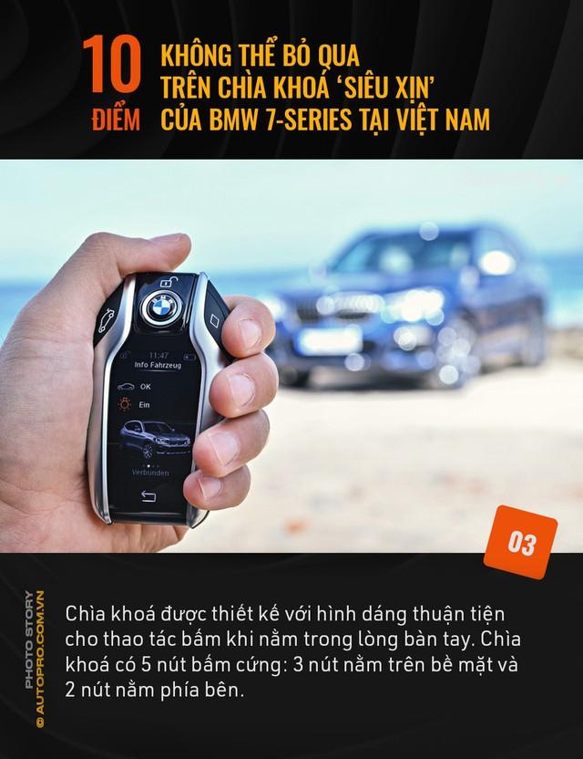 """10 điểm không thể bỏ qua trên chìa khoá """"siêu xịn"""" của BMW 7 Series tại Việt Nam - Ảnh 3."""