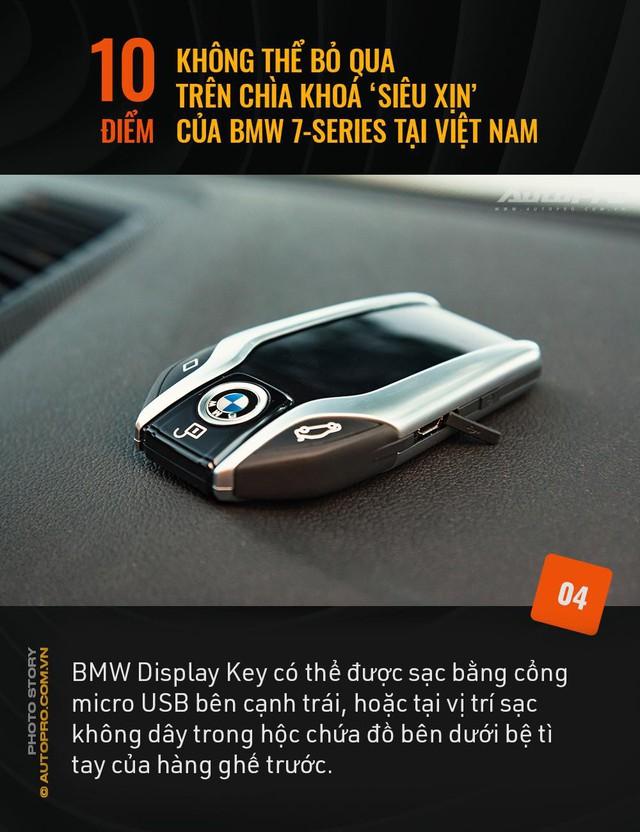 """10 điểm không thể bỏ qua trên chìa khoá """"siêu xịn"""" của BMW 7 Series tại Việt Nam - Ảnh 4."""