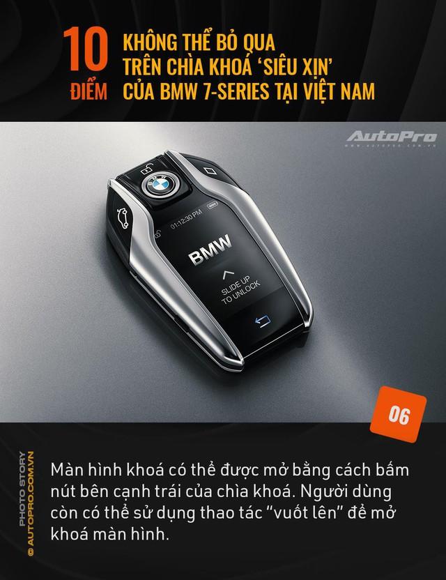 """10 điểm không thể bỏ qua trên chìa khoá """"siêu xịn"""" của BMW 7 Series tại Việt Nam - Ảnh 6."""