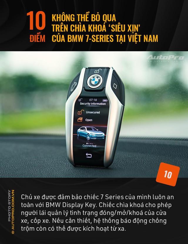 """10 điểm không thể bỏ qua trên chìa khoá """"siêu xịn"""" của BMW 7 Series tại Việt Nam - Ảnh 10."""