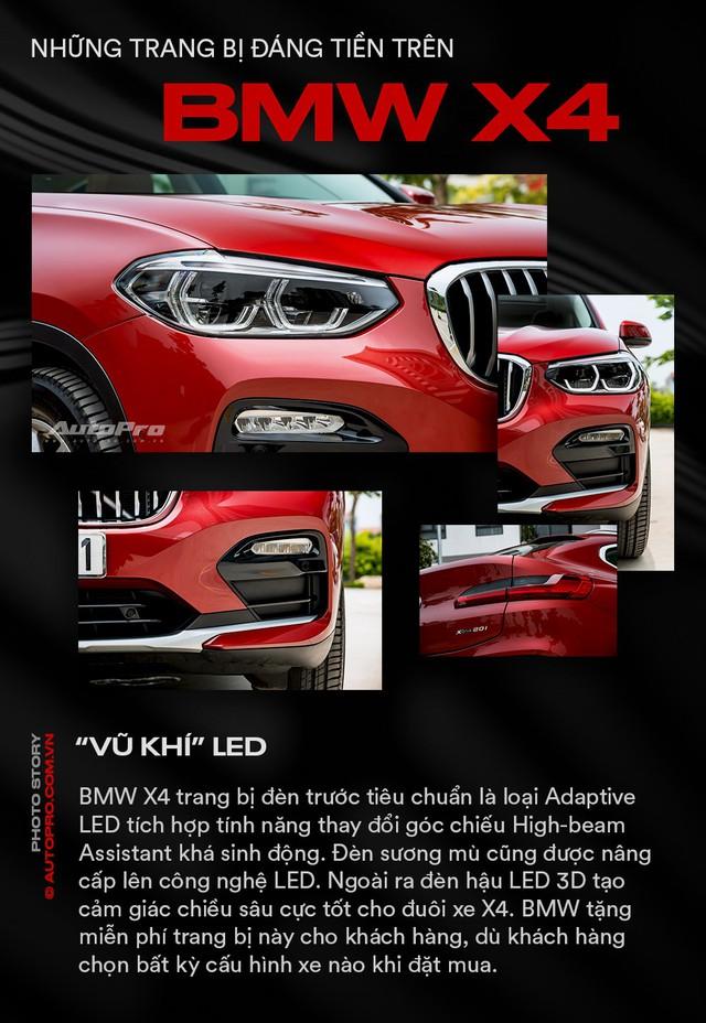 Những trang bị đáng tiền trên BMW X4 - Ảnh 1.