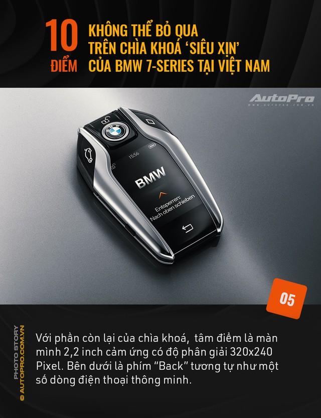 """10 điểm không thể bỏ qua trên chìa khoá """"siêu xịn"""" của BMW 7 Series tại Việt Nam - Ảnh 5."""