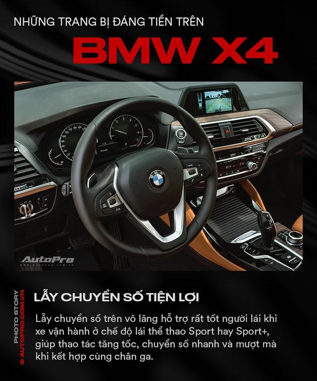 Những trang bị đáng tiền trên BMW X4 - Ảnh 5.