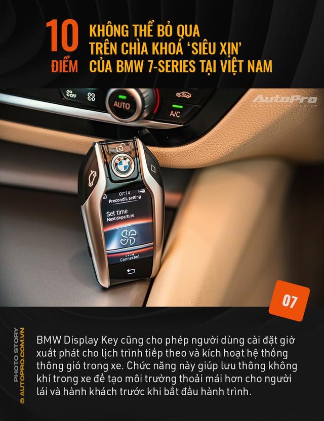 """10 điểm không thể bỏ qua trên chìa khoá """"siêu xịn"""" của BMW 7 Series tại Việt Nam - Ảnh 7."""
